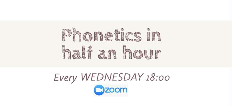 PHONETICS IN HALF AN HOUR! Join for FREE